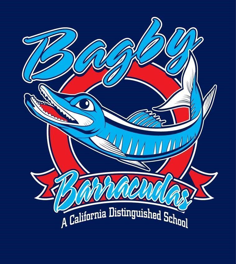Bagby Logo Hooded Zip Up Sweatshirt (Navy) -Adult